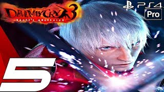 Devil May Cry 3 HD - Gameplay Walkthrough Part 5 - Beowulf Boss Fight (Remaster) PS4 PRO
