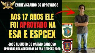 O futuro oficial Augusto conta como fez para ser aprovado na ESA e EsPCEx em 2020 | Elite Mil