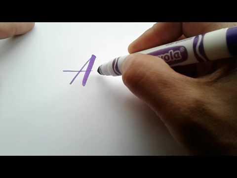 Crayola Calligraphy – Allergies
