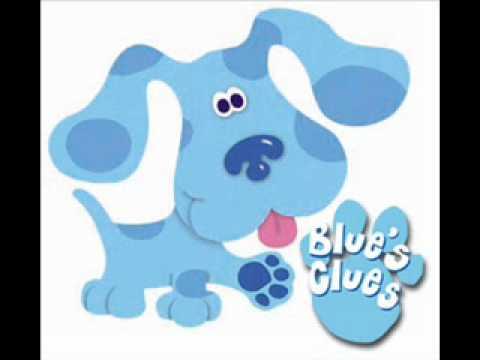 Blues Clues Impression- Blue - YouTube