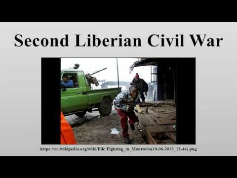 Second Liberian Civil War