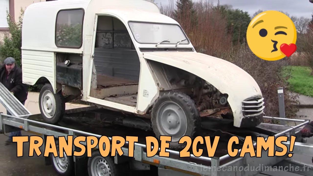 2cv camionnette 01 transport youtube. Black Bedroom Furniture Sets. Home Design Ideas