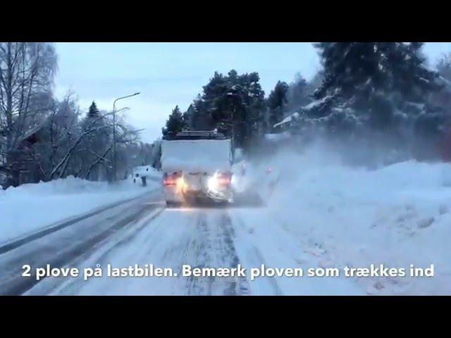 Svenske vinterveje. Tag med i Peer Nesleins bil på en tur gennem Sverige til Polarcirklen.