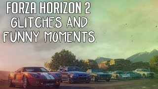 Forza Horizon 2 Funny Glitches & Moments! (Xbox One Gameplay)