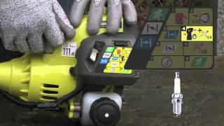How to start Ryobi Petrol Brushcutter - RBC26