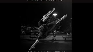 A Ballerina Portrait at night, using 2 lights! バレリーナポートレー...