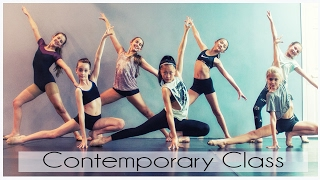 Contemporary Dance Class with Alexa