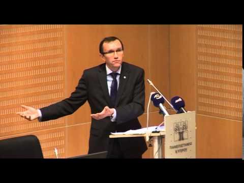 Espen Barth Eide at the University of Cyprus