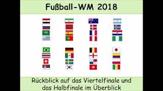 Fußball-WM 2018: Vorschau Halbfinale - Rückblick Viertelfinale