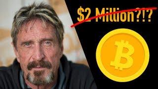John McAfee Denies $2M Bitcoin Prediction