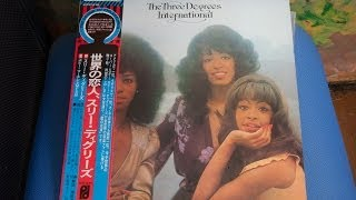 ECPO-10-PH Three Degrees International LP record CBS Sony Philadelp...