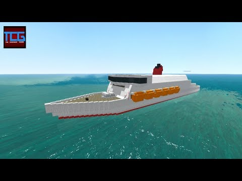 From the Depths! Sinking a Basic Cruise Ship
