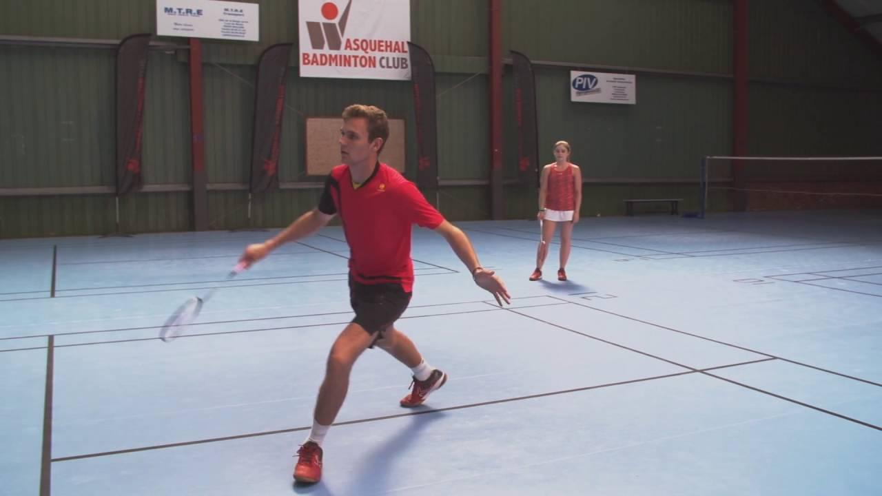 Badminton Exercices Pour Ameliorer Votre Deplacement Youtube