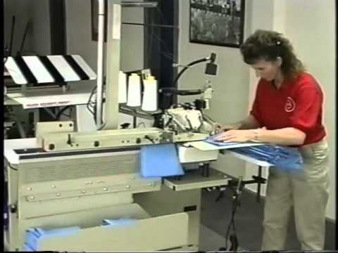 Tee Shirt Production (Video)