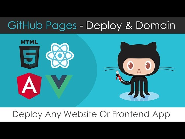 GitHub Pages Deploy & Domain