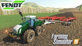 Fendt Trisix Farming Simulator 19 Mods Video Review