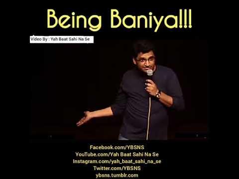 Reality of Baniya By Gaurav Gupta 2017 Funny Video By Yah Baat Sahi Na Se
