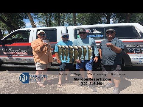 Potholes Reservoir Walleye Fishing