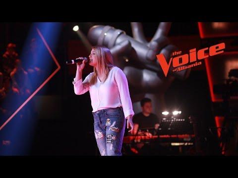 Argela Xhaferri – Me and my broken heart – Audicionet e fshehura – The Voice of Albania 6