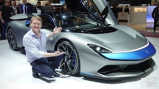 The Pininfarina Battista is a €2m HYPER-EV! | FIRST LOOK
