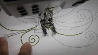 Hand Embroidery by Machine