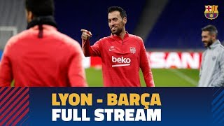 LYON 0-0 BARÇA | Full press conference and training session