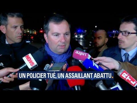 """Coups de feu sur les Champs-Elysées: """"L'identification de l'agresseur n'est pas établie"""""""