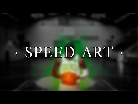 Kyrie Irving Wallpaper Speed Art   Jaggerman