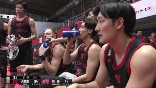 アルバルク東京vs川崎ブレイブサンダース|B.LEAGUE第4節 GAME2Highlights|10.21.2018 プロバスケ (Bリーグ)