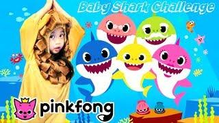 Baby Shark Challenge || Little Lion Cub Does The PinkFong Baby Shark Dance #BabySharkChallenge
