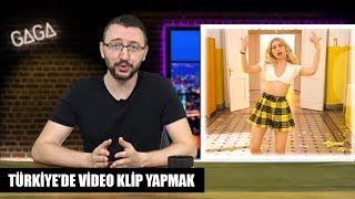Türkiye'de Video Klip Yapmak - Aleyna Tilki & Diğerleri #GAGA
