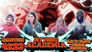 My Hero Academia - 4x23 - Let It Flow! School Festival! - Group Reaction