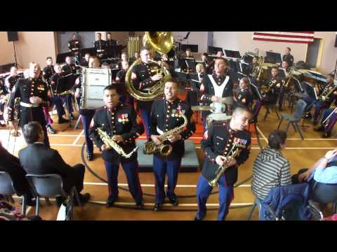 US Marine Corp Pacific Forces Party Band