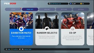 PES 2019 PTE Patch 1.0 DLC 1.02 with Last Live Update #13-09-2018