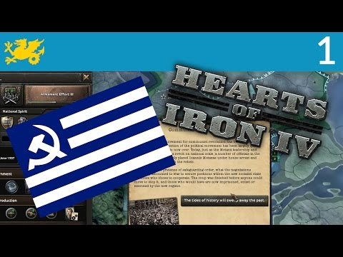 Let's Play Hearts of Iron 4 Communist Greece [1] - Workers of Greece, Unite!