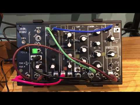 NEW PERFECT CIRCUIT 3DWaves Make Noise 0-Coast 2016 Black STAND