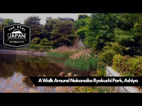 A Walk Around Nakanoike Ryokuchi Park, Ashiya, Hyogo Prefecture | The Real Japan | HD