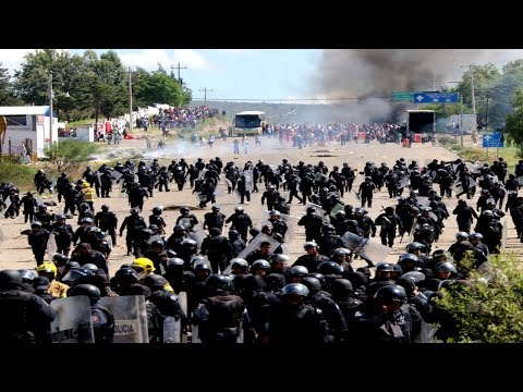 Mexican revolution continues but media remains censored on topic HD