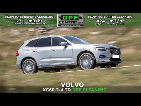 Volvo XC60 2.4 TD DPF Cleaning
