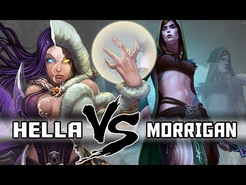 SMITE | Duel League - Hella VS Morrigan