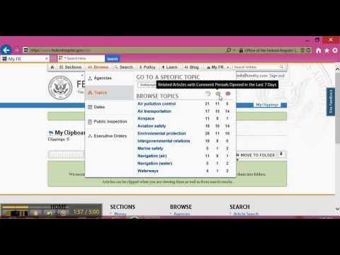 federalregister gov