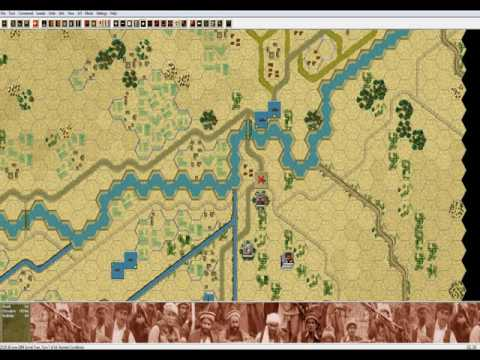 John Tiller's Soviet-Afghan War Gameplay: DRA Defence of Radio Stations