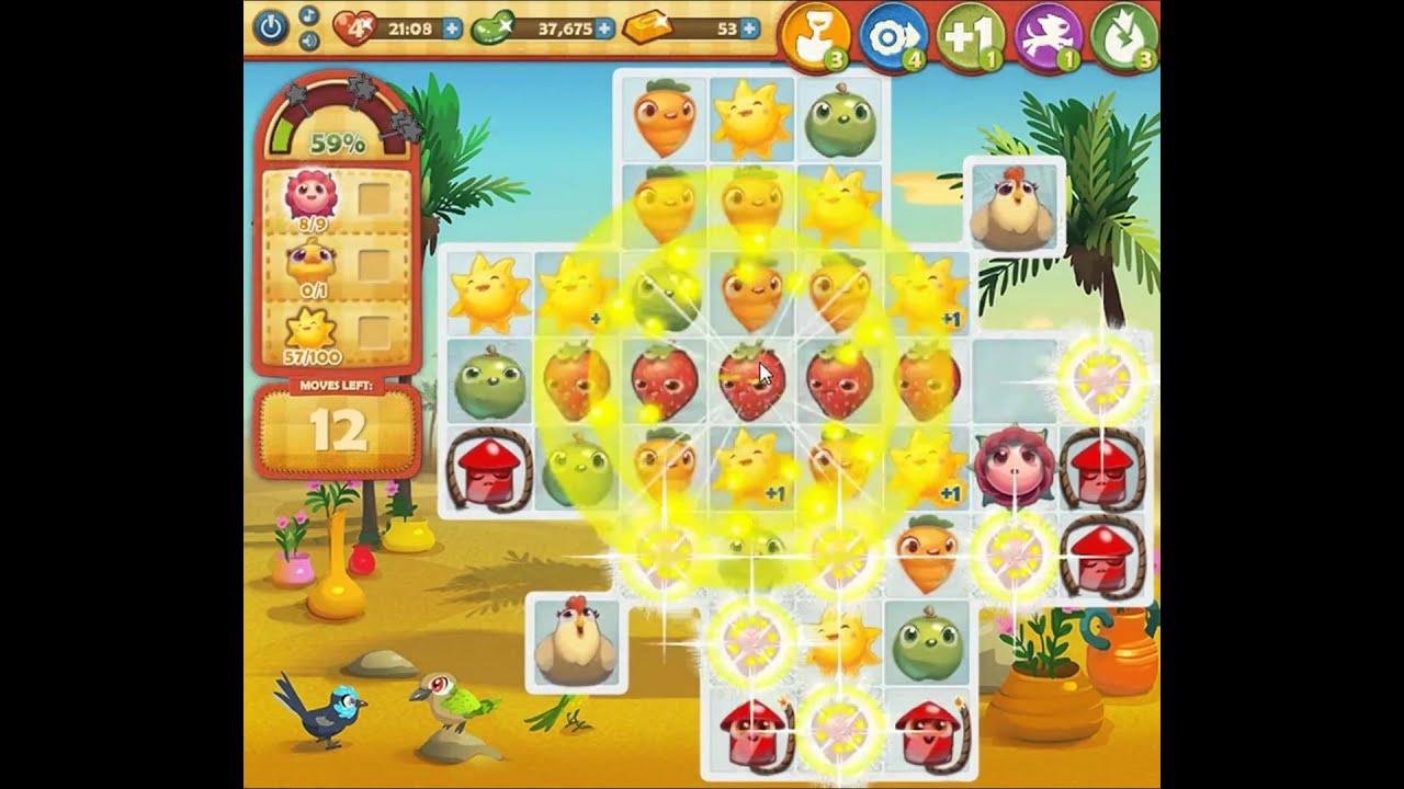 Farm Heroes Saga Level 387 - YouTube