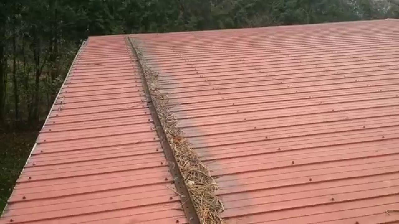 Metal Roofing Is Bad Youtube