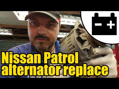 #1417 - Nissan Patrol charging circuit test & alternator replacement