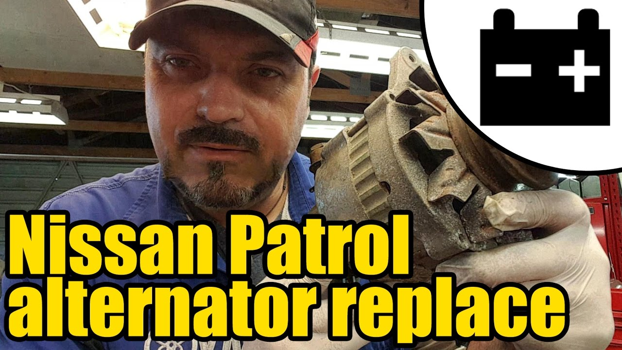 hight resolution of nissan patrol charging circuit test alternator replacement 1417