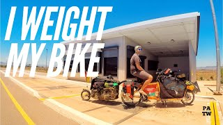 VLOG #008  I weighted my Bike