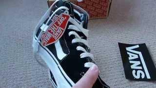 VANS SK8-HI Shoes (Black) - *REVIEW*