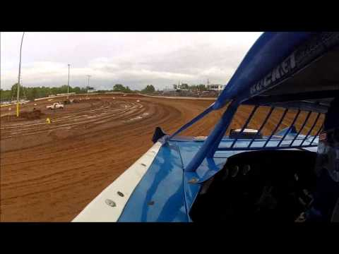 #44 Clint Smith - Duck River Raceway Park - World of Outlaw Race - 4-28-13 - dvd demo