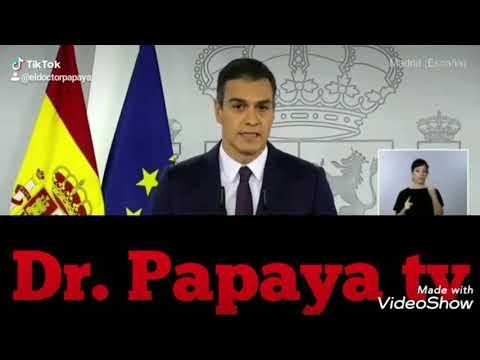 Pedro Sánchez confiesa la farsa Covid. 23 octubre